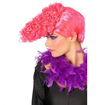 Freaky Party Perücke neon-pink