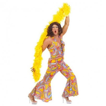 Drag Queen Funky Chick Jumpsuit für Herren