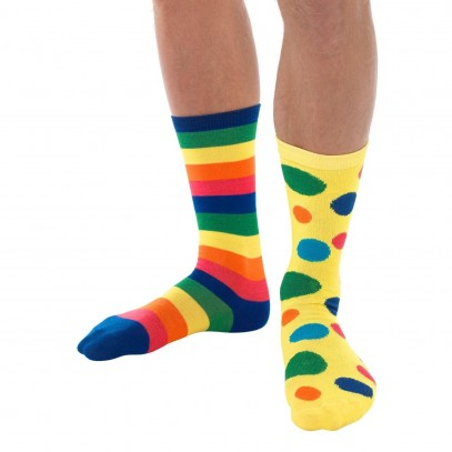 Geronimo Clown Socken