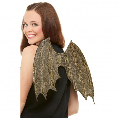 Golden Dragon Wings 50cm