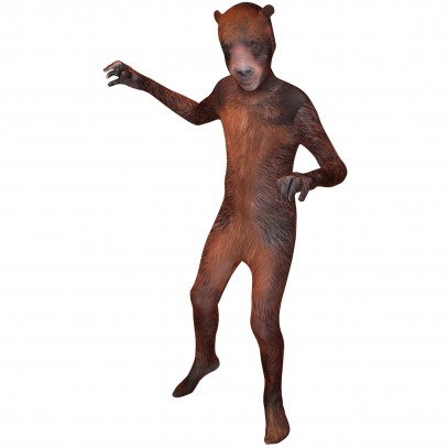 Grizzly Bär Morphsuit