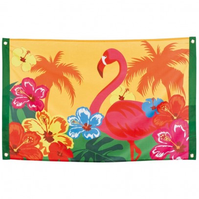 Hawaii Fahne Flamingo