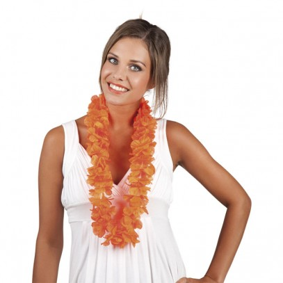 Hawaii Kette Hula orange