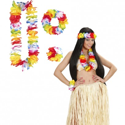 Buntes Hawaii Set Waikiki 3-teilig