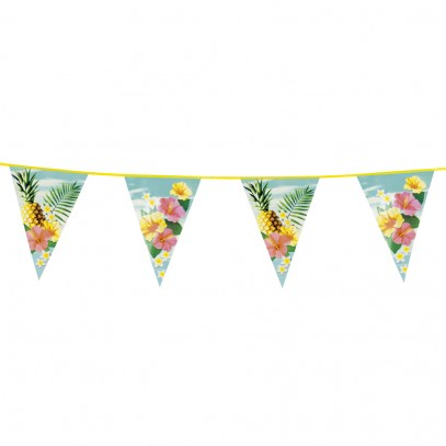 Hawaii Party Wimpelkette 6m