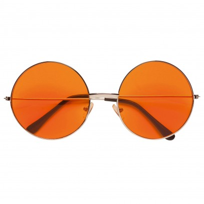 Johnny Hippie Brille orange