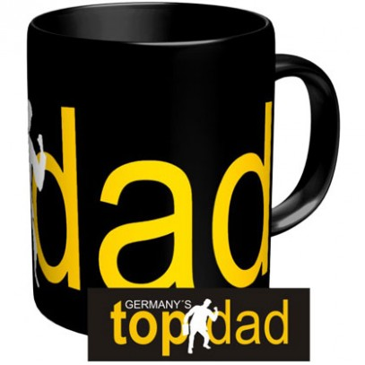 "Kaffeebecher "" Top Dad"""