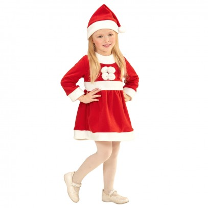 Little Miss Santa Kostüm 1