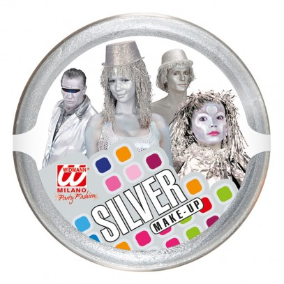 Make-Up silber 25g