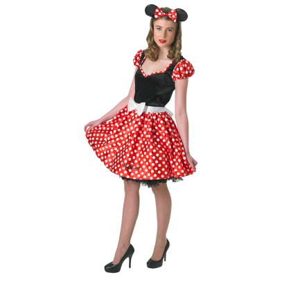 Minnie Mouse Damenkostüm