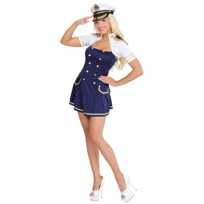 Navy Captain Girl Kostüm 1
