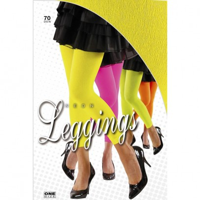 Neon Leggings 70 den in 4 Farben
