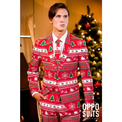 OppoSuits Winter Wonderland Anzug