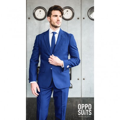 OppoSuits Navy Royale Anzug