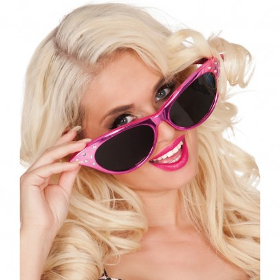 Pink Diamond Lady XXL Brille 1