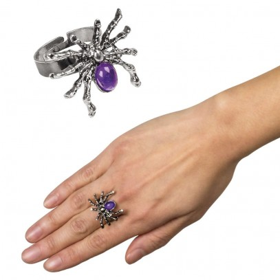 Purple Spider Ring