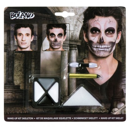 Scary Skeleton Make-Up Set