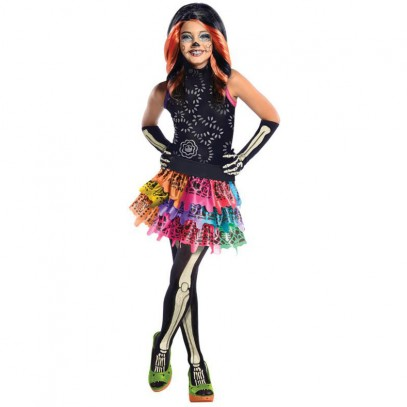 Skelita Calaveras Monster High Skelett Kostüm