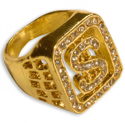 Strass Dollar Ring 1