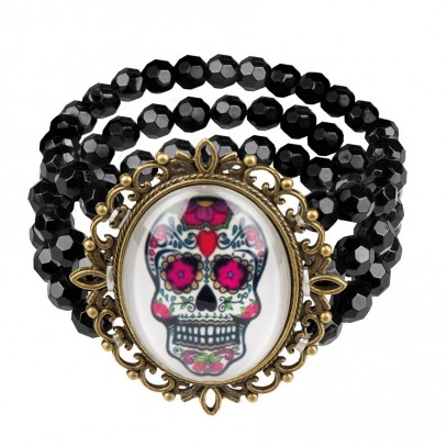 Tag der Toten Armband Guadalupe 1