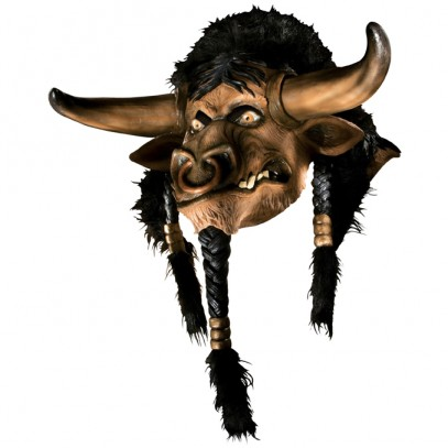 World of Warcraft Tauren Deluxe Latexmaske
