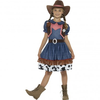 Texas Country Cowgirl Kinderkostüm