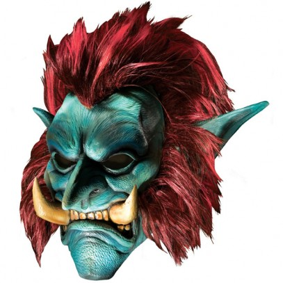 World of Warcraft Troll Deluxe Latexmaske
