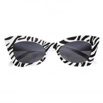 Zebra Rocks Rockabilly Brille 1
