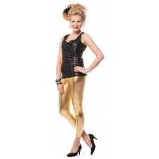 Glamour Leggings goldfarben 1