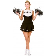 Rachel High School Cheerleader Kostüm schwarz