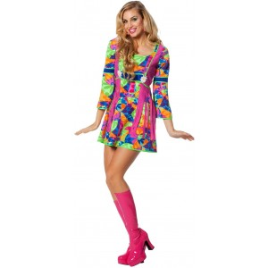 70's Fancy Fiona Hippie Kleid 1