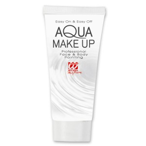 Aqua Make Up Tube weiß
