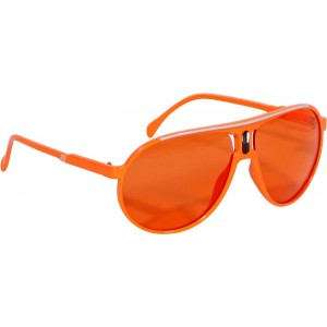 Disco Party Sonnenbrille neon-orange