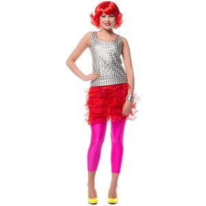 Funky Disco Top Deluxe silber 1