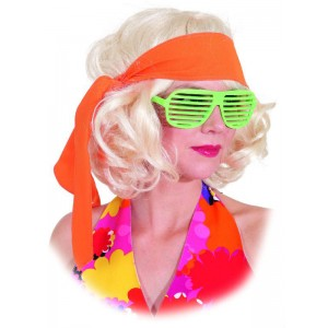 Hippie Stirnband neon-orange