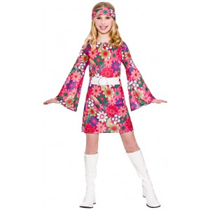 Holly Groovy Hippie Girlie Kinderkostüm