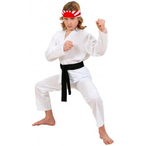 Karate Kind Kinderkostüm 1