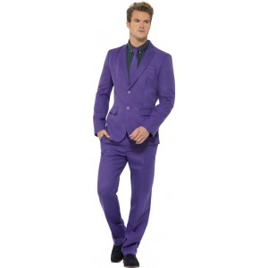 Mister Purple Party Anzug lila