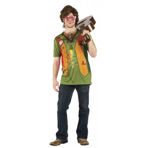 Dope-Head Hippie Shirt Deluxe