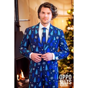 OppoSuits Winter Woods Anzug