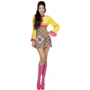Sexy Sixties Donna Hippie Kleid 1