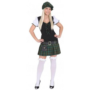Sexy Scottish Girl Damenkostüm