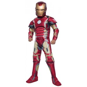 Iron Man Mark 43 Kinderkostüm Deluxe