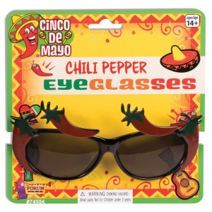 Red Hot Chili Brille