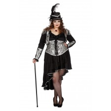 Black Bride Steampunkkostüm für Damen