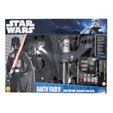 Star Wars Kostüm Darth Vader Deluxe-Set Kind