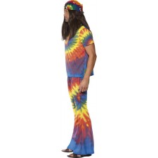 Hippie Kostüm Rainbow-Man 3