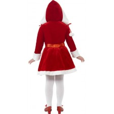 Junior Miss Santa Kostüm Deluxe 2