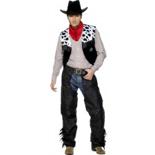 Mr. Chandler Cowboy Kostüm 2