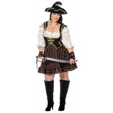 Mabel Piratenbraut Kleid